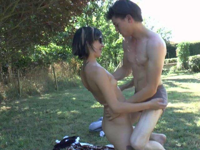 baiser en plein air