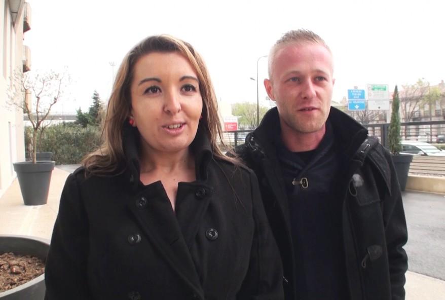 femme libertine de Montpellier venue avec son copain