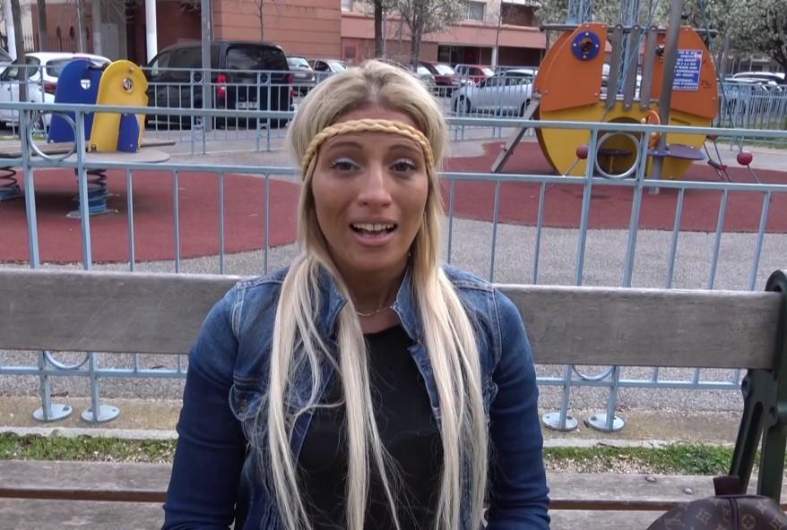 blonde salope de Sedan