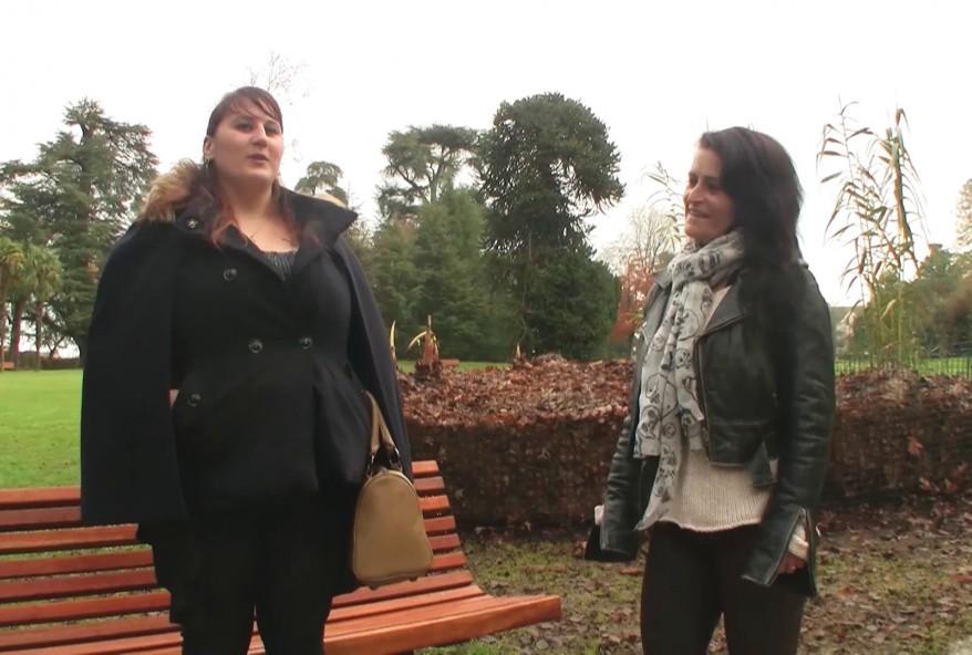 plan chaud avec une grosse cochonne bossant au zoo de Rennes